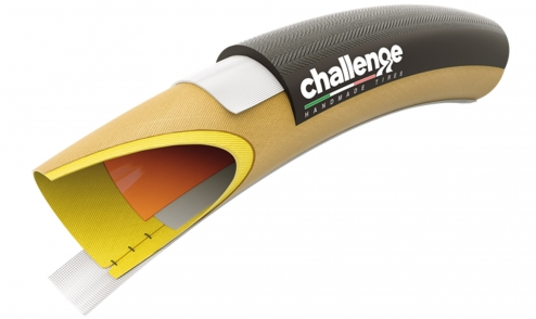 Boyau Challenge Grifo 33 Pro - Puncture Protection System