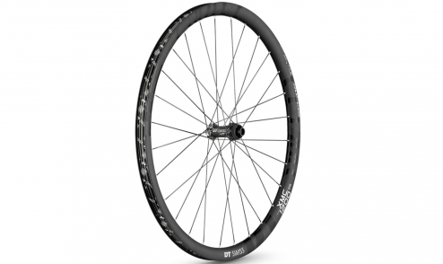 Roue Avant DT Swiss XMC 1200 Spline 2016 - Carbone - Tubeless Ready